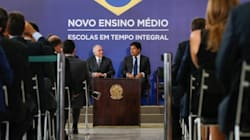 'Novo Ensino Médio' proposto pelo governo Temer terá mais horas e grade