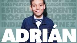Adrián Martín con 11 años llega al Grammy