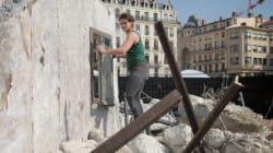 Une rue syrienne dévastée recréée au cœur de