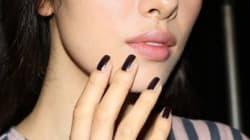 Le contouring pour ongles a fait fureur aux semaines de