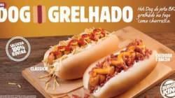 Queremos! Burger King lança hot dog grelhado no