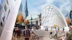 Des tunnels gonflables géants pour «décorer» la rue