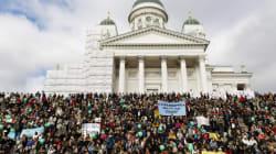 Finlande: 15 000 personnes manifestent contre le racisme à