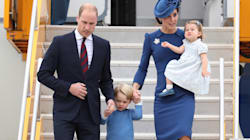 Duke And Duchess Of Cambridge Touch Down In