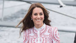 Kate Middleton Goes Canadiana In Red And White Alexander