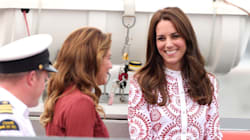 Sophie Grégoire Trudeau, Kate Middleton Shine In Red, Red, And