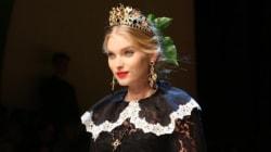 Mode à Milan: Dolce & Gabbana célèbre l'exubérance