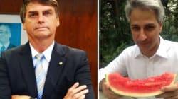 Jair Bolsonaro xinga Molon em intervalo de debate da