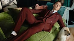 Tom Hiddleston Has Ditched His 'I Heart T.S.' Shirt For Gucci