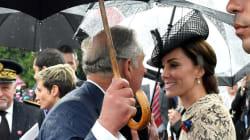 La météo défavorable force le couple princier à changer ses