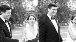 Grâce à Tom Hanks, leurs photos de mariage sont