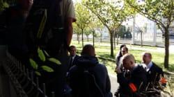 Grabuge devant le siège d'Alstom à