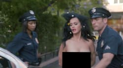 Katy Perry vote toute