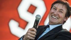 Wayne Gretzky est de retour dans la LNH à titre