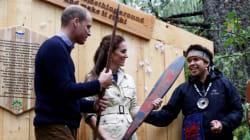 Visite royale: les Autochtones de la Colombie-Britannique appellent à la