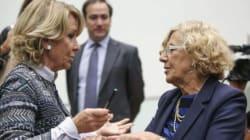 Carmena y Aguirre se enzarzan por aplausos de los activistas