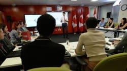 Justin Trudeau accueille son Conseil jeunesse