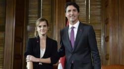 Trudeau rejoint l'initiative féministe d'Emma Watson