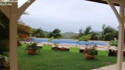Les pluies torrentielles de la tempête en Martinique vues des réseaux