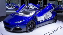 電気自動車の国産スーパーカー「GLM