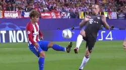 Antoine Griezmann a enrhumé Franck Ribéry lors