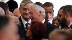 Le monde entier aux obsèques de Shimon Peres en