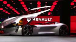 Voici la Trezor, le concept-car électrique de Renault à une