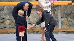 Another High Five Denied. Prince George Is Outta Here,