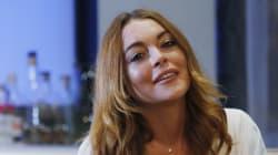 Lindsay Lohan s'est sectionnée le bout du doigt sur un