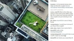 Man Accidentally Captures Breathtaking Wedding Photo With