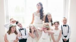 Cette enseignante qui invite ses élèves trisomiques à son mariage va vous