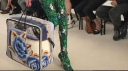 Quand Balenciaga présente un sac «manta» à la semaine de la
