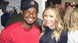 Paulina Gretzky Happily Takes A Fan Pic With Tiger