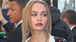 Lily-Rose Depp plus belle que jamais lors du défilé Chanel à
