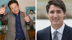 Le chef Jamie Oliver enthousiaste de la vision de Justin Trudeau sur la santé des enfants