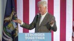 La sortie embarrassante de Bill Clinton pour