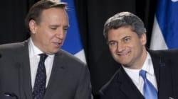 Fusion ADQ/CAQ: François Legault est satisfait des résultats du