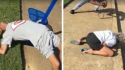 Vidéo du couple qui fait une overdose d'héroïne et tombe dans les pommes sur le