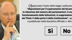 Nappi, uno dei giudici che ha valutato il quesito del referendum: