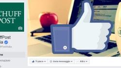 Audiweb premia Huffpost su Facebook: 3,6 milioni di utenti unici al