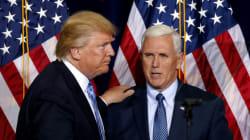 Mike Pence, colistier de Trump, se dit «outré» par les propos du