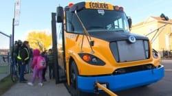 Un premier autobus scolaire électrique à la