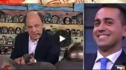 Gli avvertimenti di Crozza-Bersani a Renzi fanno ridere anche Di