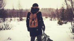 La neve negli occhi di un ventenne con un bagaglio di sogni da