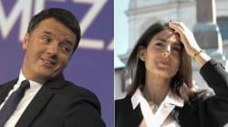 Scintille tra Renzi e Virginia Raggi sulle