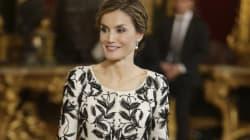 El vestido de Letizia el 12 de octubre, ¿un