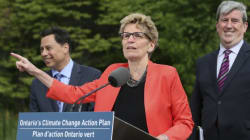 Kathleen Wynne Blames Your Family For Costly Ontario Climate