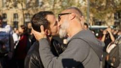 Contre la Manif pour tous, un kiss-in géant est