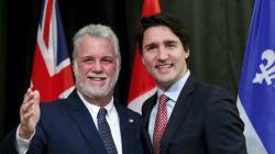 Couillard accompagnera Trudeau pour la signature du