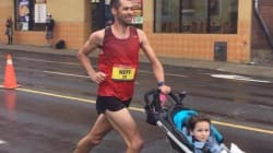 Yes, There's A Stroller Marathon World Record And This Dad Beat